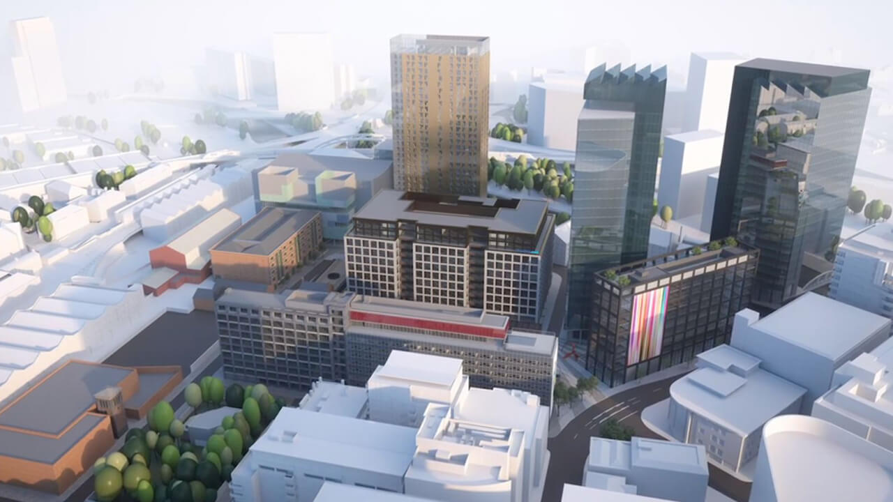 Enterprise City Environment